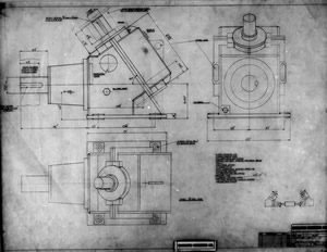 Wallwork Gearbox Drawing