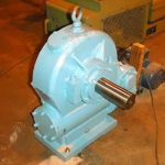 Coal Infeed Double Worm Gearbox 4x8 inch